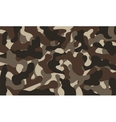 Army Camouflage Pattern Khaki Color vector