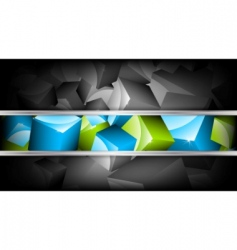 Background with cubes vector illustration vector