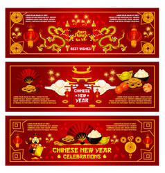 Chinese new year china holiday greeting vector