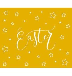 Easter postcard card invitation flyer banner vector