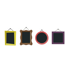 Frames flat icon vector