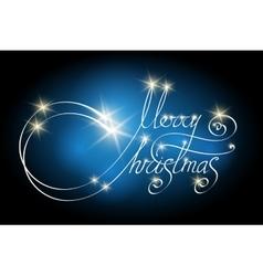 Handwritten Christmas Lettering vector image