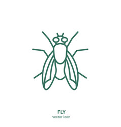 insect icon vector image