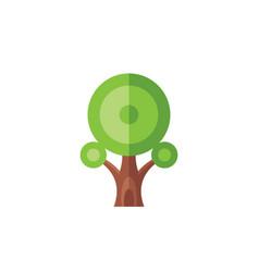 tree - creative logo template concept vector image