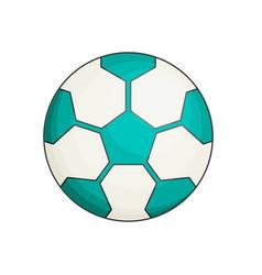 soccer ball flat vector image