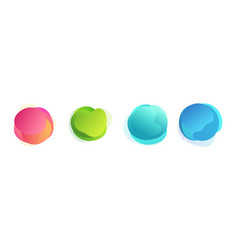 abstract colored gradient shapes with lines vector image