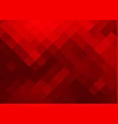 bright abstract background in red tones of squares vector image