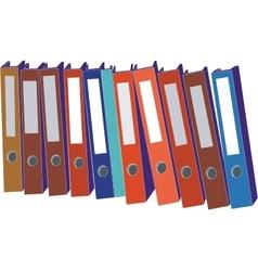 Folder 05 vector image
