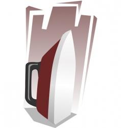 iron box vector image