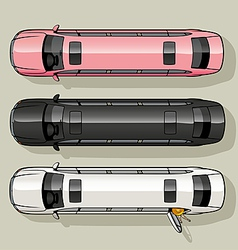 Limo Set vector image