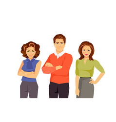 Office fashion people vector