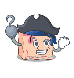 Pirate skin character cartoon style vector
