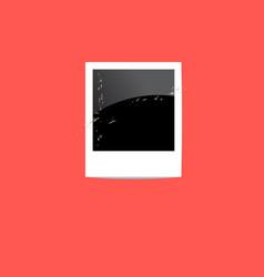 polaroid snapshot vector image