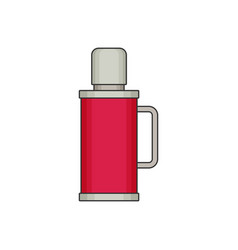 Thermos flat vector