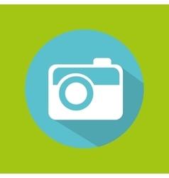 man tourist traveler camera picture photo design vector image vector image