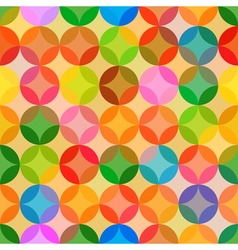 Abstract bright colors seamless pattern background vector