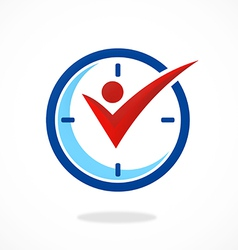 Active people time logo vector
