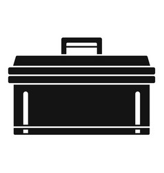 bike tool box icon simple style vector image