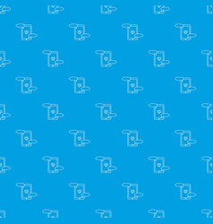 communication in mobile phone pattern vector image