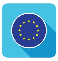 Flat european icon vector
