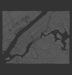 Informative flyer manhattan maps new york map vector