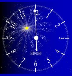 midnight vector image