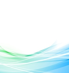 Modern overlay speed line blue background vector image