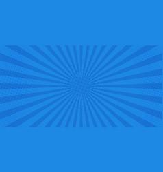 pop art retro comic blue background superhero vector image