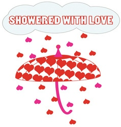 Showered With Love vector