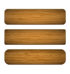 wood planks vector image