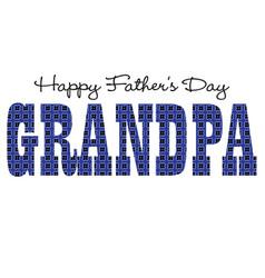 blue bandana grandpa happy fathers day vector image vector image