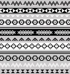 Tribal ethinc ztec seamless pattern vector image vector image