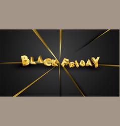 black friday background layout background balck vector image