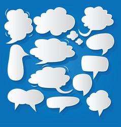 Comic bubble speech balloons speech cartoon 200 vector