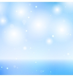 Elegant Blue Sky and Sea Background - Graphic vector