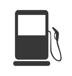 gas pump gasoline icon graphic vector image