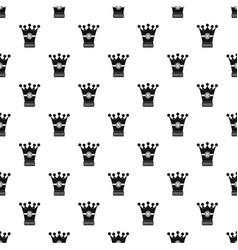 medieval crown pattern vector image