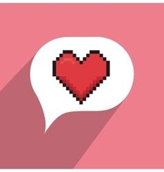 Online relationship technology vector image