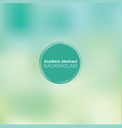 Soft teal blurry gradient abstract background vector