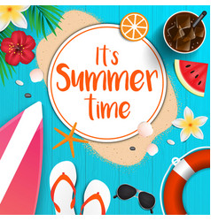 summer background 2018 5 vector image