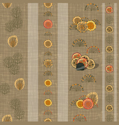 wall-paper template with modern original seamless vector image