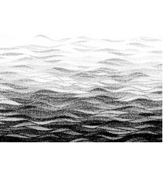 abstract stippled halftoned waves background vector image