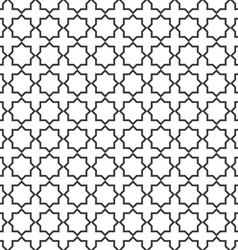 Seamless delicate pattern in islamic style vector image