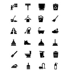 Cleaning Icons 2 vector