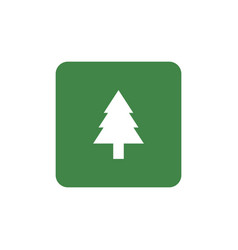 forestation symbol icon vector image
