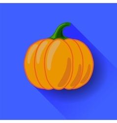 Orange Pumpkin Icon Isolated vector