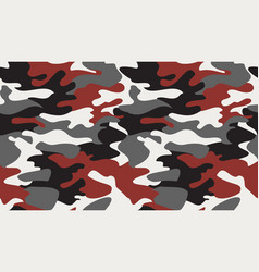 Seamless camouflage pattern background classic vector