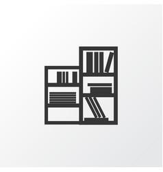 Shelving unit icon symbol premium quality vector