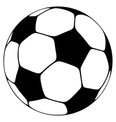 soccer ball royalty free vector image vectorstock rh vectorstock com soccer ball vector clip art free