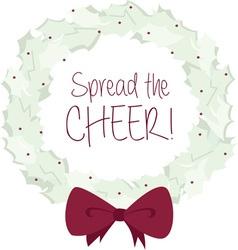 Spread The Cheer vector image